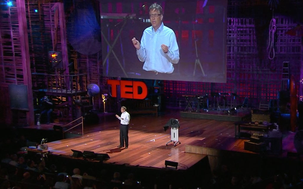 "Bill Gates: ""Innovating to zero CO2!"""