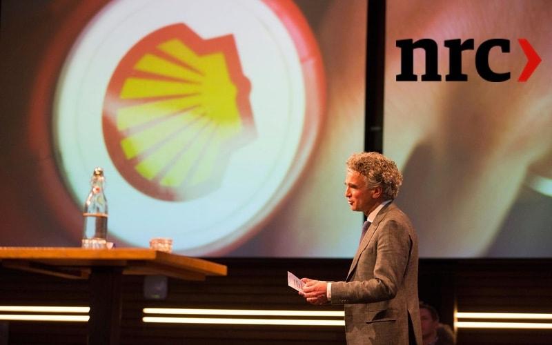 Kleine belegger Mark van Baal probeert Shell duurzamer te krijgen