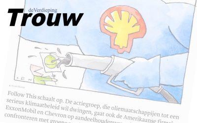 Follow This schaalt op en wil na Shell ook andere oliemaatschappijen vergroenen