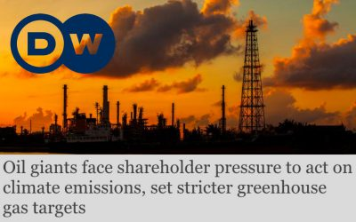 Oil giants face shareholder pressure to act on climate emissions, set stricter greenhouse gas targets