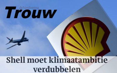 Shell moet klimaatambitie verdubbelen