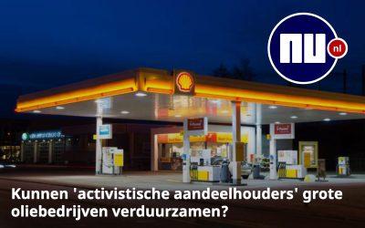 Kunnen 'activistische aandeelhouders' grote oliebedrijven verduurzamen?