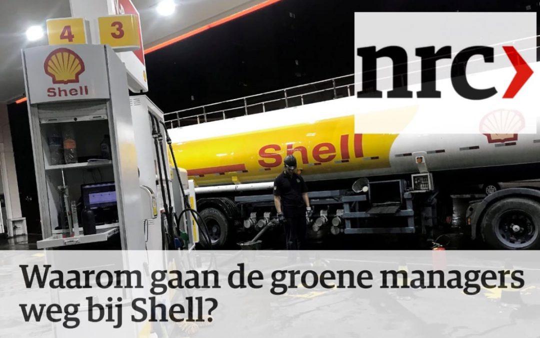 Waarom gaan de groene managers weg bij Shell?