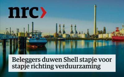 Beleggers duwen Shell stapje voor stapje richting verduurzaming